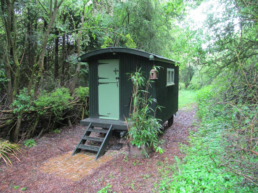 Stay in a traditional shepherd's hut